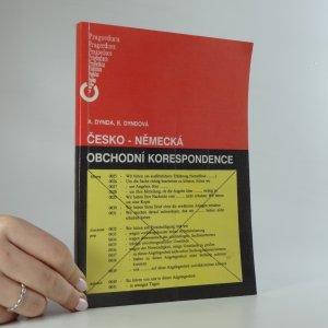 náhled knihy - Česko-německá obchodní korespondence
