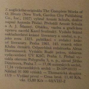 antikvární kniha Romance čumilů, 1961