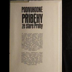 antikvární kniha Podivuhodné příběhy ze staré Prahy, 1971