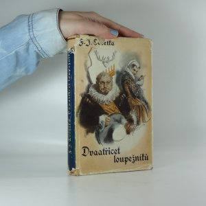 náhled knihy - Dvaatřicet loupežníků