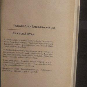 antikvární kniha Červená ryba, 1960