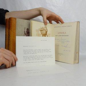 náhled knihy - Afrika snů a skutečnosti I. - III. díl (3 svazky v polokožené vazbě, podpisy obou autorů, dopis od Miroslava Zikmunda)