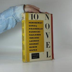 náhled knihy - Deset novel 1957