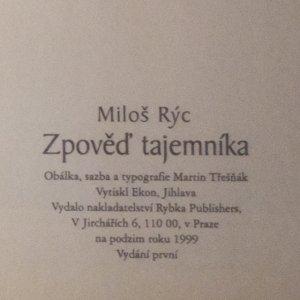 antikvární kniha Zpověď tajemníka. Ve službách Dagmar Havlové a Václava Havla, 1999