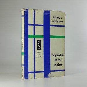náhled knihy - Vysoké letní nebe