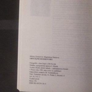 antikvární kniha Obyčejné rozhovory, 1991