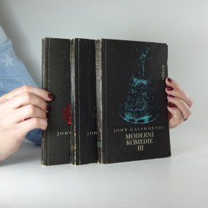 antikvární kniha Moderní komedie I-III (Bílá opice, Stříbrná lžička, Labutí zpěv), 1972