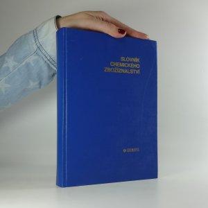 náhled knihy - Slovník chemického zbožíznalství