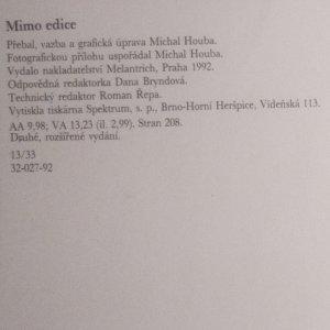 antikvární kniha Hovory, 1992