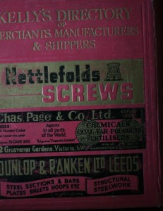 antikvární kniha Kelly´s Directory of Merchants, Manufacturers & Shippers, 1947