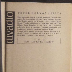 antikvární kniha Jizva , 1964