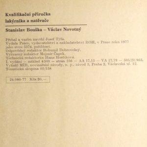 antikvární kniha Kvalifikační příručka lakýrníka a natěrače, 1977