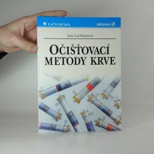 náhled knihy - Očišťovací metody krve