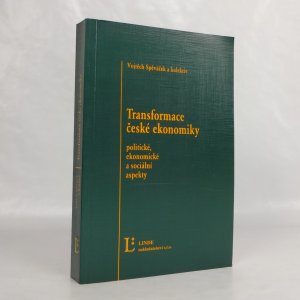 náhled knihy - Transformace české ekonomiky: politické, ekonomické a sociální aspekty