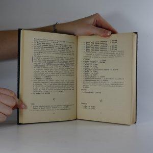 antikvární kniha Souhrnný rejstřík ke Sbírce soudních rozhodnutí a stanovisek 1964-1974 (k rozhodnutím a stanoviskům ve věcech občanskoprávních), 1978