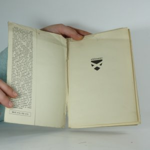 antikvární kniha Lesy hoří, 1943