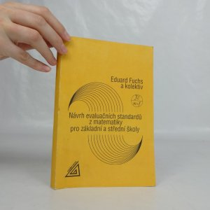 náhled knihy - Návrh evaluačních standardů z matematiky pro základní a střední školy