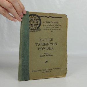 náhled knihy - Kytice tajemných povídek