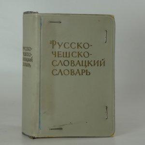 náhled knihy - Rusko-česko-slovenský slovník