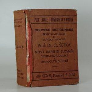 náhled knihy - Nový kapesní slovník česko - francouzský, francouzsko - český pro školu, písárnu a dům