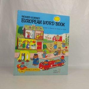 náhled knihy - European word book