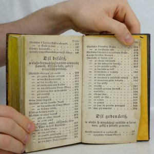 antikvární kniha Zlatý Nebe Kljč, dusse křesťanské Boha milugjcj, to gest, Pobožné modlitby z obzwlásstnjch katolických kněch pro spasenj dusse wytažené : rannj, wečernj, při službách Božjch k zpowědj a přigjmánj ... : pro osobu ženskau (Zlatý nebe klíč), 1832