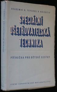 náhled knihy - Speciální ošetřovatelská technika pro dětské sestry