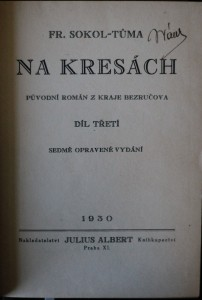 antikvární kniha Na kresách (I., III, a VI. díl), 1930