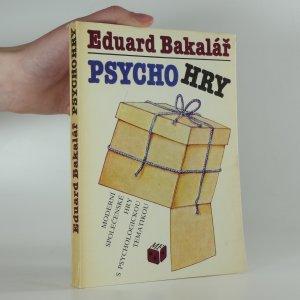 náhled knihy - Psychohry : moderní společenské hry s psychologickou tematikou