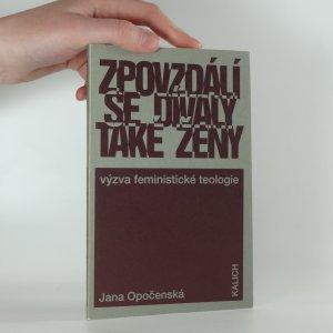 náhled knihy - Zpovzdálí se dívaly také ženy : výzva feministické teologie