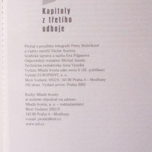 antikvární kniha Poražení vítězové : kapitoly z třetího odboje, 2003