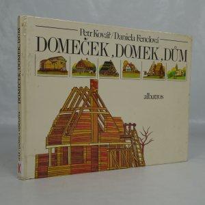 náhled knihy - Domeček, domek, dům