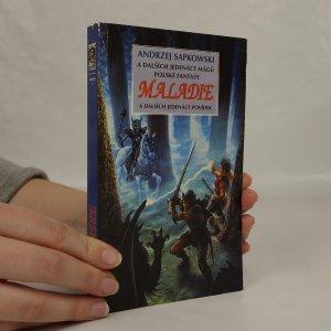 náhled knihy - Maladie. Antologie polských fantasy povídek