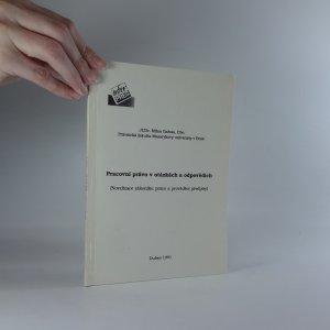 náhled knihy - Pracovní právo v otázkách a odpovědích
