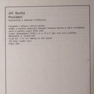 antikvární kniha Povídání. Rozhovor s Karlem Hvížďalou, 1991
