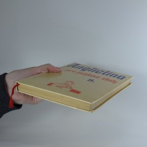 antikvární kniha Angličtina pro jazykové školy. 2. díl, 1966