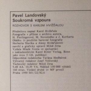 antikvární kniha Soukromá vzpoura. Rozhovor s Karlem Hvížďalou, 1990