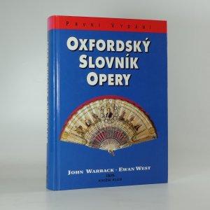 náhled knihy - Oxfordský slovník opery