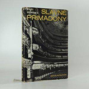 náhled knihy - Slavné primadony. Od Bordoniové ke Callasové.