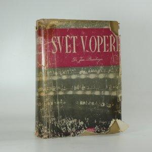 náhled knihy - Svět v opeře