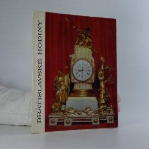 náhled knihy - Bratislavské hodiny Katalóg hodín