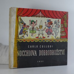 náhled knihy - Pinocchiova dobrodružství