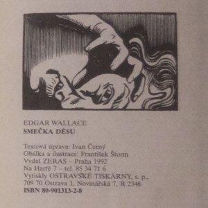 antikvární kniha Smečka děsu, 1992