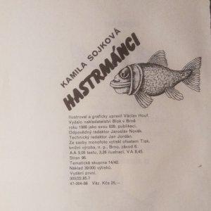 antikvární kniha Hastrmánci, 1986