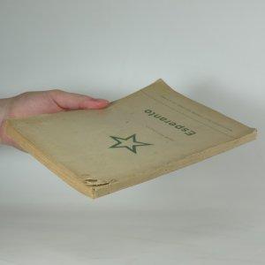 antikvární kniha Esperanto, 1947
