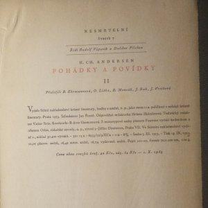 antikvární kniha Pohádky a povídky. 2. díl., 1953