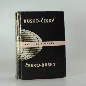 náhled knihy - Rusko-český a česko-ruský kapesní slovník