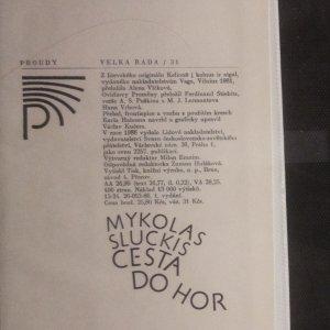 antikvární kniha Cesta do hor, 1986