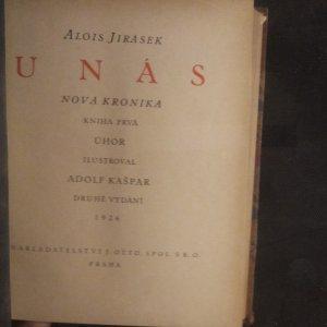antikvární kniha Temno, U nás I-IV, F.L.Věk I-V (10 svazků), 1924-1927