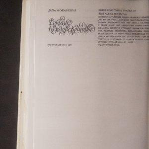 antikvární kniha Poklad Kryštofa Kolumba, 1987